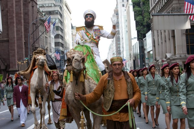 """HollywoodandFine.com Outrageous, offensive and alternately sophisticated and crude, """"The Dictator"""" is also quite funny – as well as being Sacha Baron Cohen's first comedy that is mostly scripted. Did I […]"""