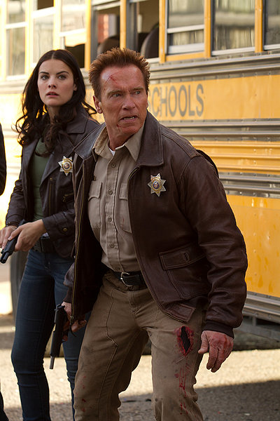 """HollywoodandFine.com Sometimes, all you want is a knock-down, guns-blazing approximation of an old-style western, even if it's set in contemporary times. As a modern oater, """"The Last Stand"""" is shamelessly […]"""
