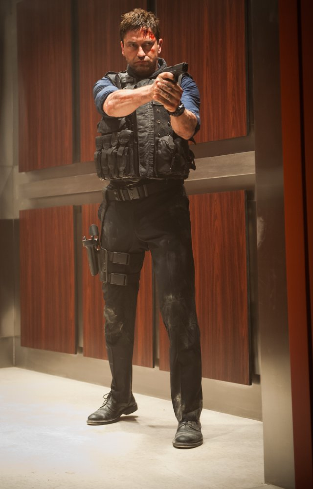 """HollywoodandFine.com A second-rate """"Die Hard"""" knock-off with Gerard Butler playing the Bruce Willis role, """"Olympus Has Fallen"""" is preposterously overblown, an action movie that seems to prove the old saying: […]"""