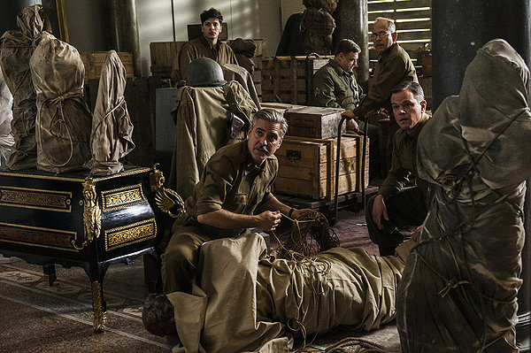 """HollywoodandFine.com Having been mentioned as an Oscar contender for 2013, George Clooney's """"The Monuments Men"""" was abruptly bumped from awards season to this week because, according to the press release, […]"""